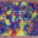 Challah Covers - Dove   Artketubah.com by Nishima Kaplan